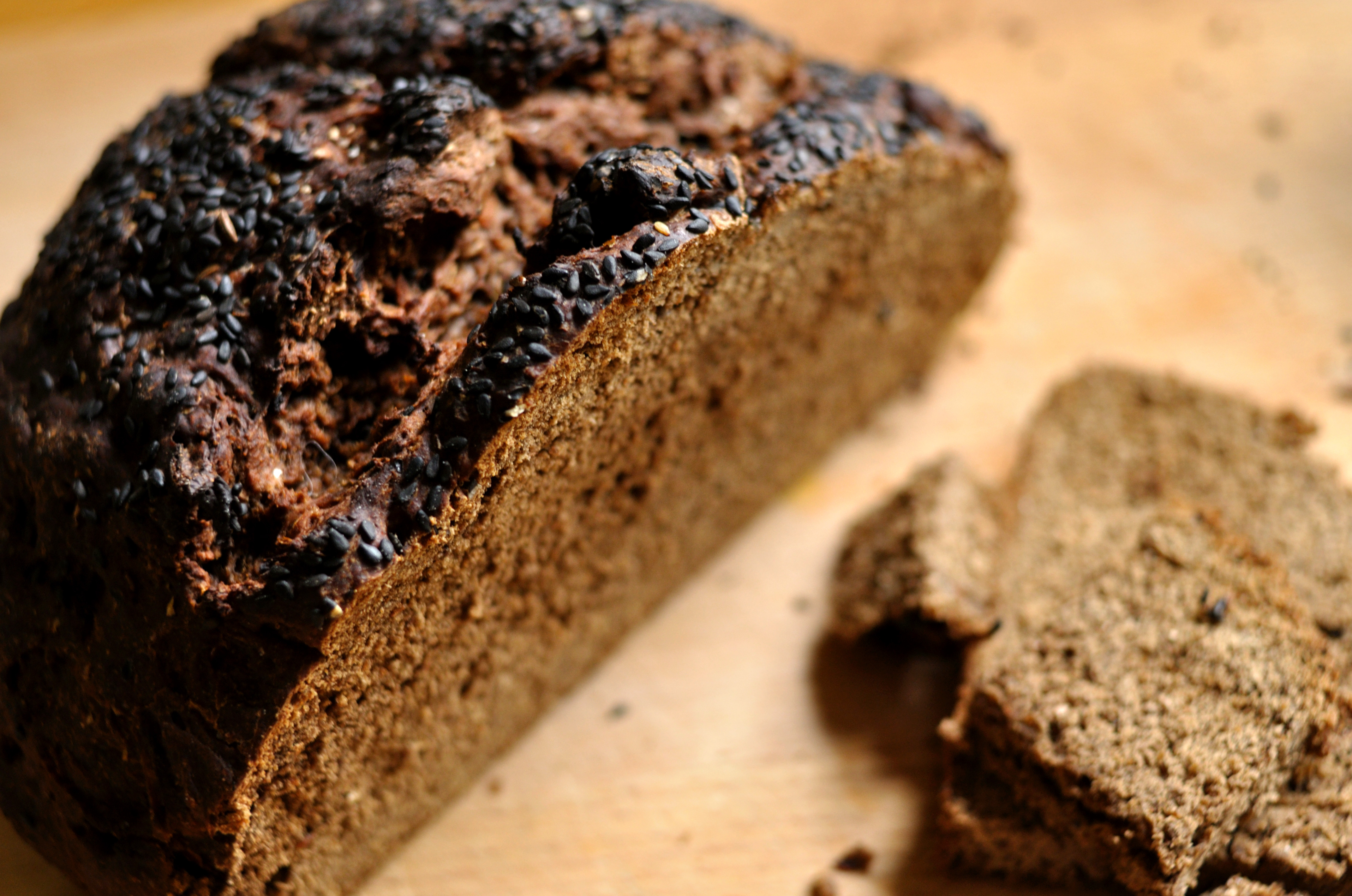 Basket Full of Bread – Part 2. Black Bread | flour and faff